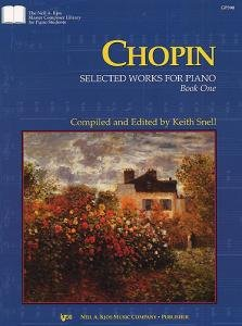 Chhopin Selected Works for Piano, Book One (The Neil A Kjos Master Composer Library for Piano Students, GP392)