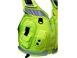 Hi-Vis YELLOW Tactical Patrol Vest FREE DELIVERY from Niton Tactical