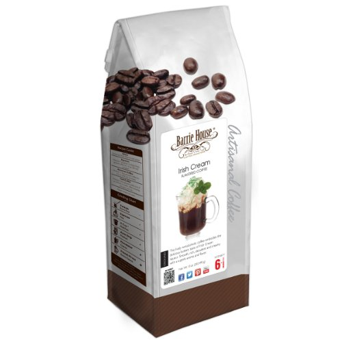 Barrie House Irish Cream Coffee 10 oz. Ground Bag