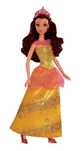 Disney Princess Sparkling Princess Belle Doll - 2012 - 1