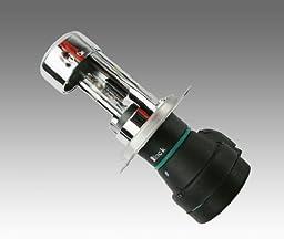 Zenex H4/9003/HB2 H/L 6000K HID Xenon Telescopic Bulb (1 pair, Diamond White)