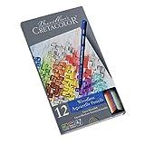 Cretacolor Aqua Monolith Pencil Set Set of 12 (Color: Assorted Colors)