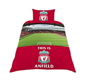 Liverpool FC Stadium Single Duvet from Zap Ltd
