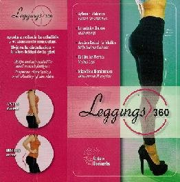 Amazon.com: Leggins 360 Elegance Leggings (large, Black