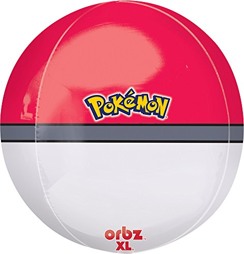 "Anagram International Poke Ball Orbs Pack, 16"", Multicolor"