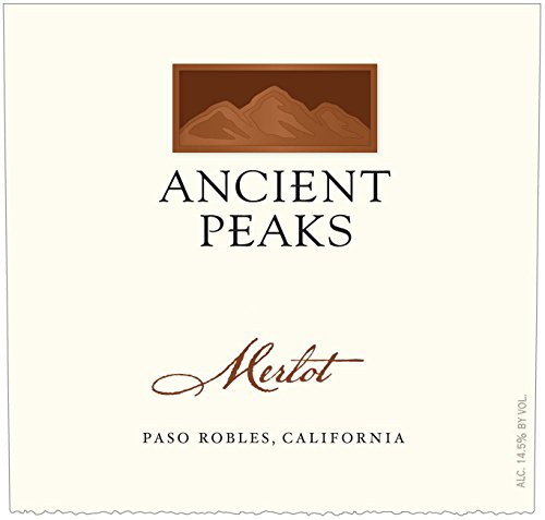 2012 Ancient Peaks Paso Robles Merlot 750 Ml