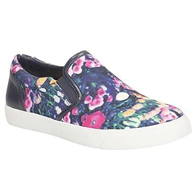 Amazon.com: Clarks Womens Glove Puppet Floral UK5 Flo: Shoes