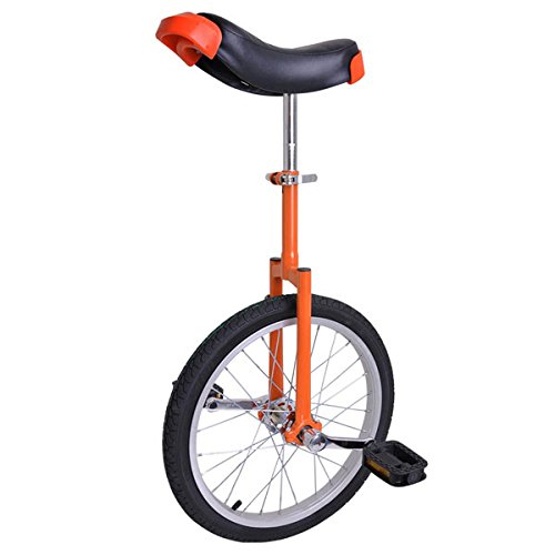 Bright-Orange-18-Inch-In-18-Mountain-Bike-Wheel-Frame-Unicycle-Cycling-Bike-With-Comfortable-Release-Saddle-Seat