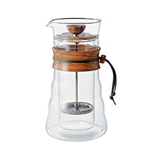 Hario French Press Coffee Maker : Amazon.com: Hario Olivewood French Press DGC-40-OV: Kitchen & Dining