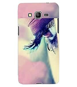 ColourCraft Beautiful Eye Design Back Case Cover for SAMSUNG GALAXY GRAND PRIME DUOS TV G530BT