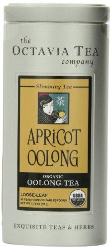 Octavia Tea Apricot Oolong , 1.76-Ounce Tin