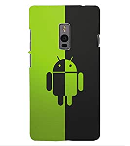 ColourCraft Cartoon Design Back Case Cover for ONEPLUS TWO