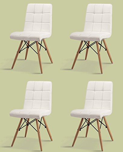 Superb Best Price Inspiration Set Of 4 Dining Chairs Polyurethane Creativecarmelina Interior Chair Design Creativecarmelinacom