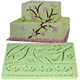 Lace Shaped Silicone Mold Fondant Cake Decoration Baking Tool