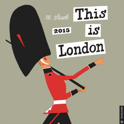 This is London 2015 Wall Calendar