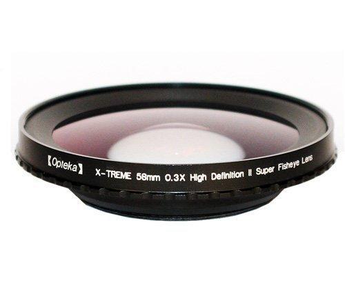Opteka 58mm 0.3X HD2 X-TREME Super Fisheye Lens for JVC GR-DVF31 - DVL12 - DVL20 - DVL25 - DVL28 - DVL30 - DVL33 - DVL38 - DVL40 - DVL45 - DVL48 - FX10 - FX102 - FX11 - FX12 - FX120 - FX14 - FX15 - FX220 - FX23 - FX30 - FX305 - FX33 - FX36 - FX40 - FX405 - FX43 - FX50 - FX505 - FX53 - FX60 - FXM106 - FXM15 - FXM16 - FXM161 - FXM17 - FXM170 - FXM25 - FXM270 - FXM333 - FXM35 - FXM37 - FXM373 - FXM38 - FXM383 - FXM39 - FXM393 - FXM45 - FXM55 - FXM555 - FXM66 - FXM75 - SX140 - SX20 - SX202 - SX21 - SX210 - SX22 - SX24 - SX25 - SX41 - SX51 - SX52 - SX56 - and