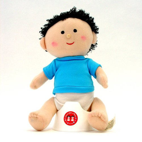 Once Upon A Potty Plush Doll Set With Mini-Potty - Boy