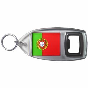 Portugal Flag - Botella plástica del anillo dominante del abrelatas
