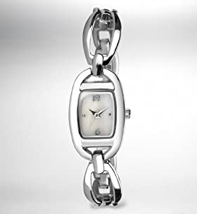 Curved Loop Analogue Bangle Watch