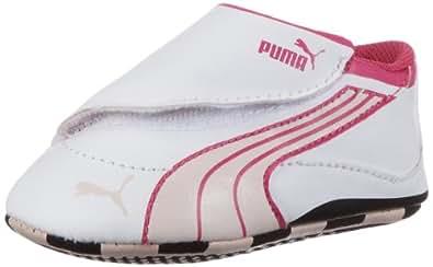 Puma Drift Cat 4 LW Crib 303981, Unisex-Baby Lauflernschuhe, Weiß (white-peach blush-cabaret 09), EU 16 (UK 0) (US 1)