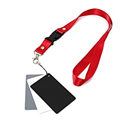BephaMart 3 In 1 Digital 18% Grey White Black Gray Cards Pocket-Size Balance Shipped and Sold by BephaMart