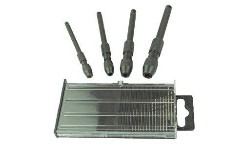 Proops 20 st ck micro metrisches mm hss bohrer 4 pin vice for Kunststoff schiebefenster