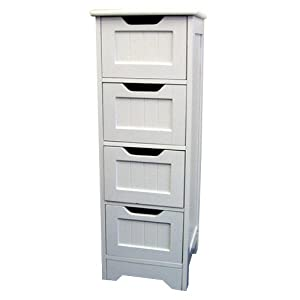 tongue and groove bathroom storage drawers white