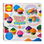 Make Your Own Doodle Cupcake Crayons By Alex Toys