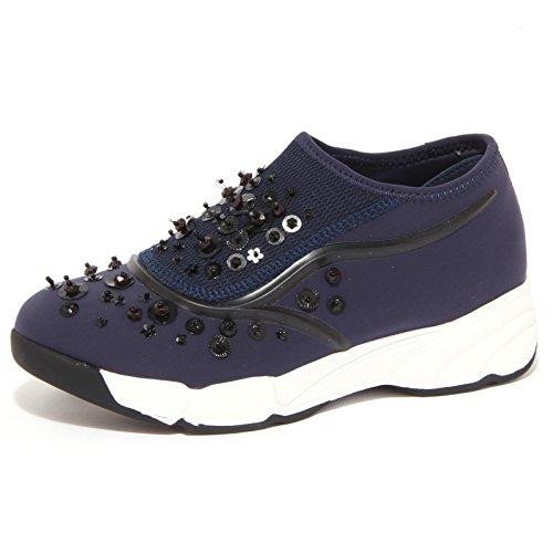 8949P sneaker UMA PARKER NY blu scarpa donna shoe woman [35]