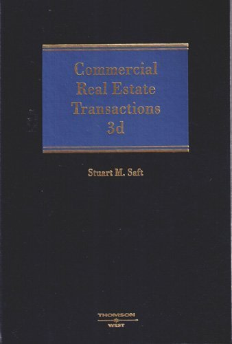 Commercial Real Estate Transactions