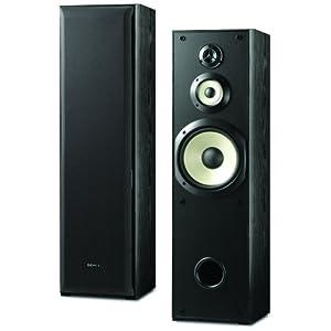 Amazon - Sony SSF-5000 Floor Standing 3-way Speaker (Pair) - $92