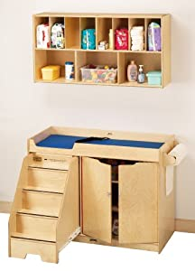 Changing Table W/Stairs Combo - School & Play Furniture