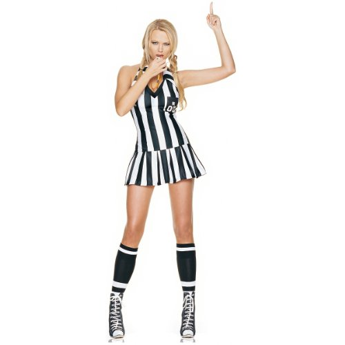 Referee Costume - Medium/Large - Dress Size 8-12