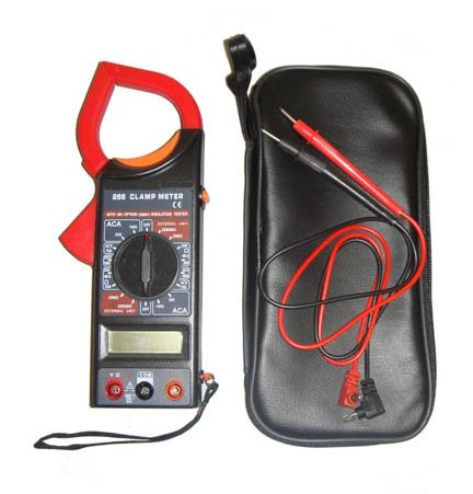 Digital Clamp Meter Multimeter Electronic Tester