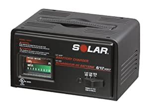SOLAR 1007C 6/2 Amp 6/12V Battery Charger
