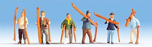 15829 - Skifahrer Figuren