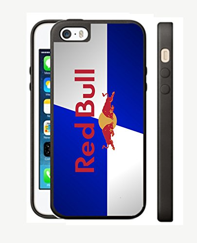 Case Cover Silicone Iphone 5 5s RB8 Protection Design Red Bull energy Drink