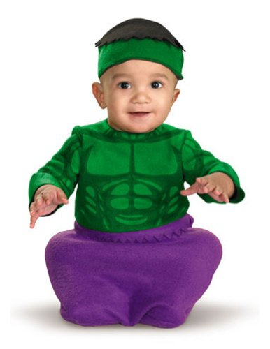 baby & toddler costumes - Hulk Baby Bunting Costume 0-6 Months