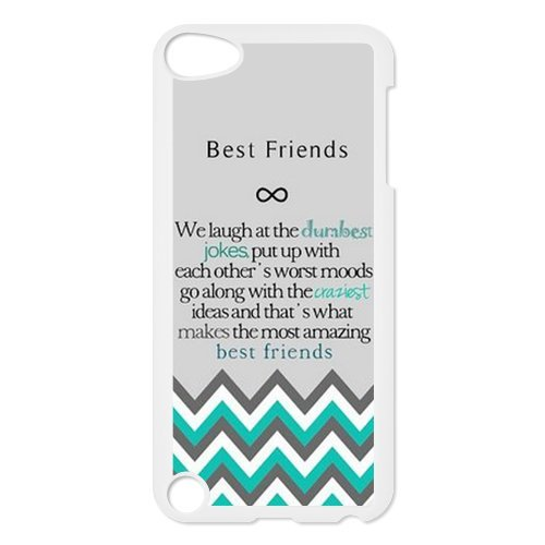 Design For You The Meaning For Best Friends IPOD TOUCH 5 Durable Cover Case princess ponies 6 best friends for ever