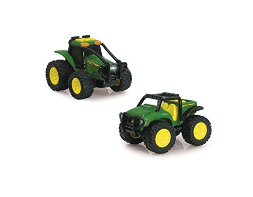 Ertl John Deere Monster Treads Lights & Sounds Ground Force Vehicle (Vehicle May Vary)