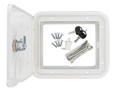 Valterra A10-2150VP White Carded Electrical Hatch