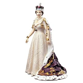 Queen Elizabeth II Figurine Diamond Jubilee Edition