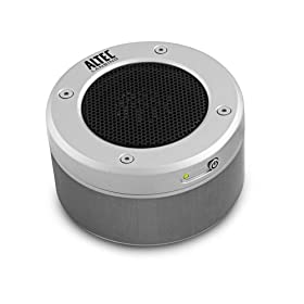 Altec Lansing iM-237 Orbit Ultraportable Speaker for MP3 Players (Silver)