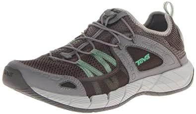 Teva Men's Churn Performance Water Shoe,Grey/Green,7 M US