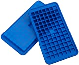 Casabella Silicone Mini Cube Ice Cube Tray, Set Of 2