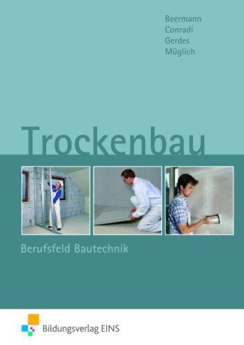Buch Trockenbau Berufsfeld Bautechnik Hrsg Werner Beermann