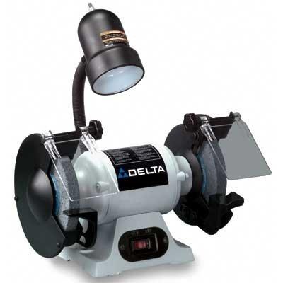 Delta Gr150 6 Inch Bench Grinder With Lamp Bench Grinder