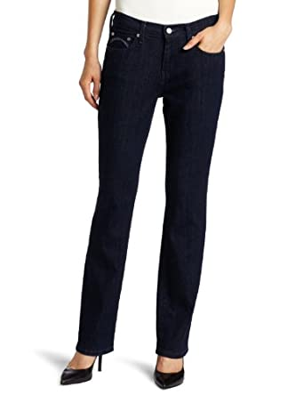 Levi's Women's 505 Straight Leg Jean, Denim Defense, 14-Long