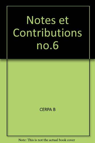notes-et-contributions-no6