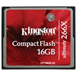Kingston CF/16GB-U2 Carte CompactFlash Ultimate 266x - 16 Go